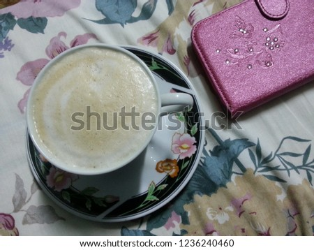 a cup of coffee #1236240460