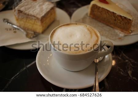 a cup of melange #684527626