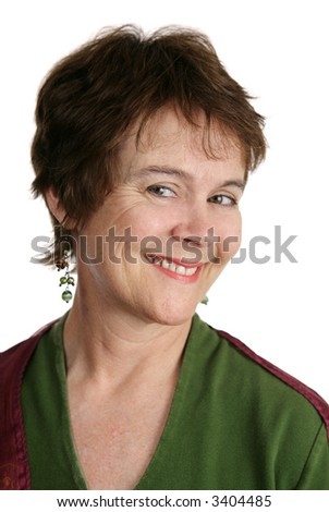 Cute Short Haircuts for Middle Aged Women