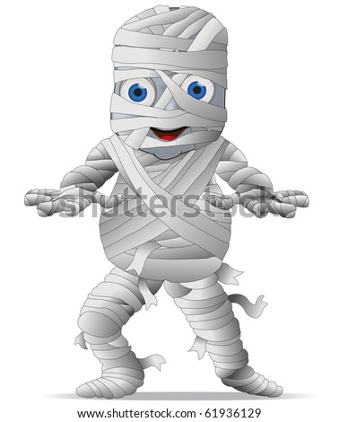 A Cute Mummy Character Graphic