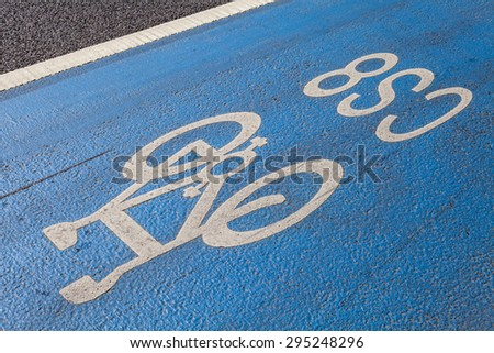 A cycle Superhighway in central London. Stock photo ©