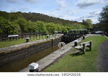 A day by the canal. Rochdale Canal, Hebden Bridge #1402920218