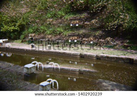 A day by the canal. Rochdale Canal, Hebden Bridge #1402920239