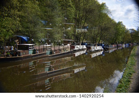 A day by the canal. Rochdale Canal, Hebden Bridge #1402920254