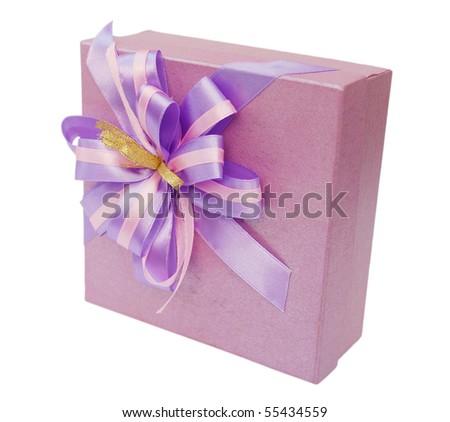A decorative gift box