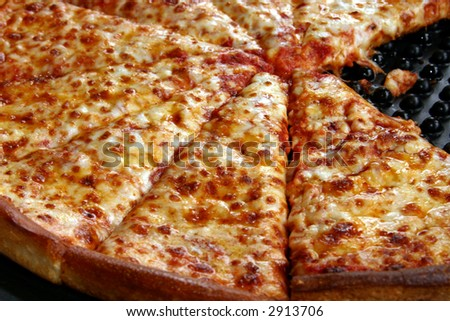 Delicious Cheese Pizza a Delicious Cheese Pizza in a