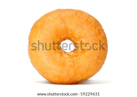 a delicious donuts isolated on a white background