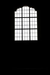 A detail of church window