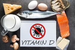 A diet rich in vitamin D and resistance to viruses. Natural sources of vitamin D in food