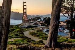 A different look at the Golden Gate Bridge