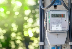A digital electricity meter