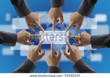 A diverse business teamwork Best Seller for Retail Shopping Concept