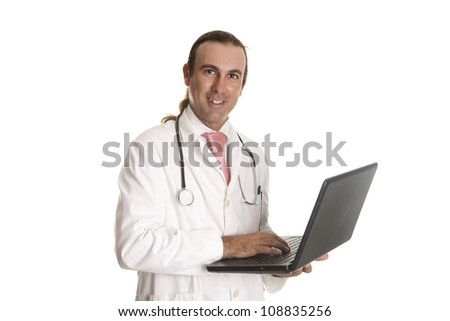 a doctor looking at your pc