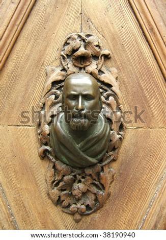 A door handle in Venice