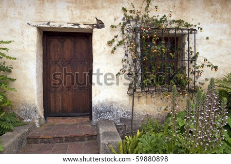 A Door in Carmel Mission