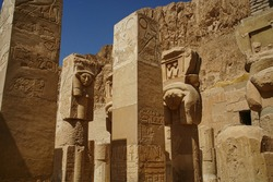 A Egyptian temple close to Luxor on the River Nile