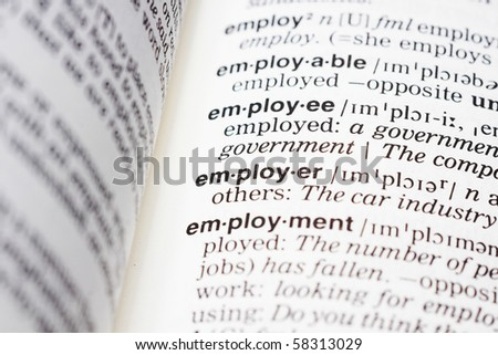 business employer definition