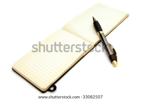 Old-Fashioned Pen and Ink Pad