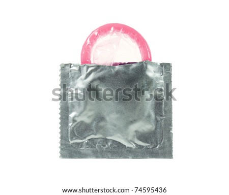 A first time open condom