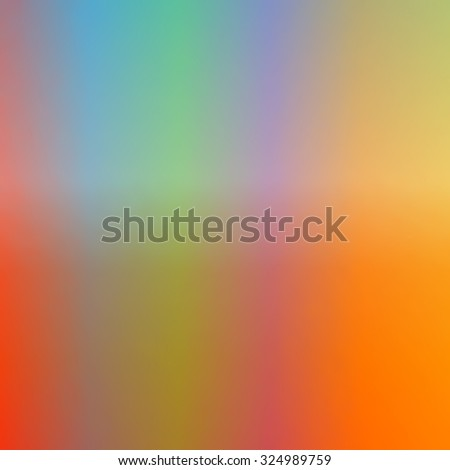 A five color soft texture color gradient background using Fall or Autumn colors. Square
