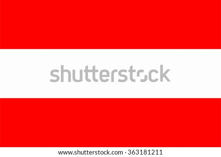 A flag of Austria