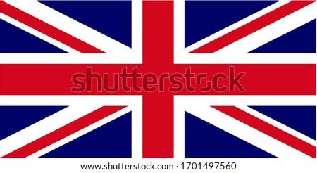 A flag of the united kingdom