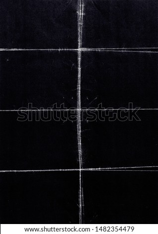 A4 Folded Paper Texture. Authentic Grungy Folded Paper Perfect for Poster Design & a Background. - Photograph/Texture