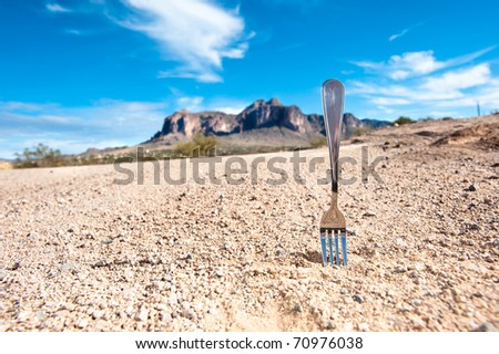 A fork in the road infers a decision point in ones life.