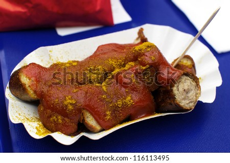A fried sausage, covered in ketchup and curry powder: this is Berlin's most famous snack, Curry Sausage or Currywurst