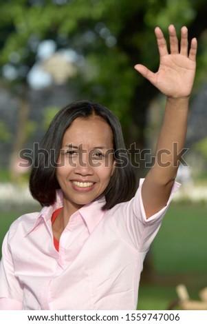 A Friendly Asian Adult Female