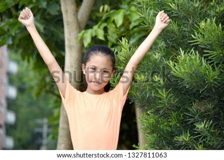 A Friendly Teenage Female