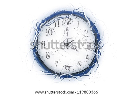 Clock Showing 10 O'clock Clock Showing 4 O'clock