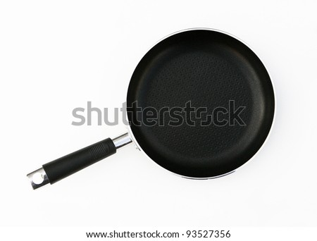 A frying pan isolated on a white background