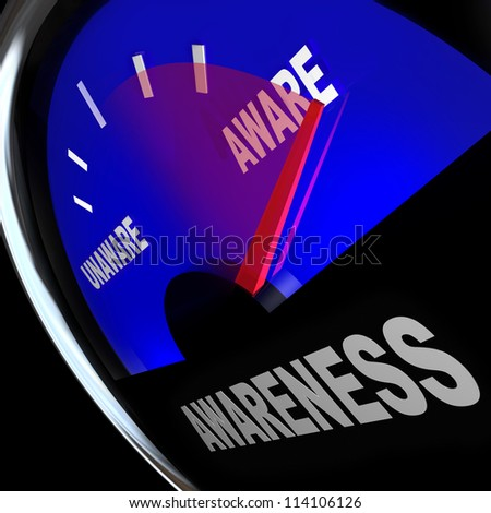A fuel gauge measures the increasing or improving awareness of a business, product, service or other knowledge