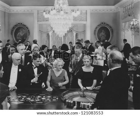 a game of roulette