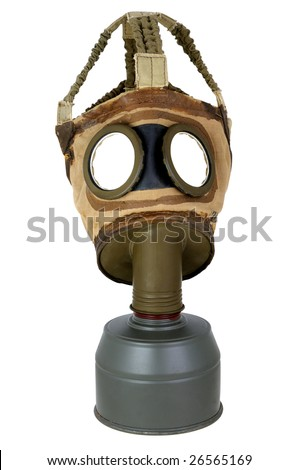 a gas mask ancient wars.