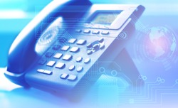 A global network of Internet telephony and customer support worldwide with the help of a contact center and professional calls to solve emerging problems