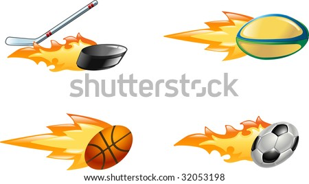 basketball ball cartoon. Rugby all, ice hockey