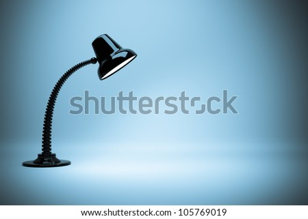 a glowing lamps background