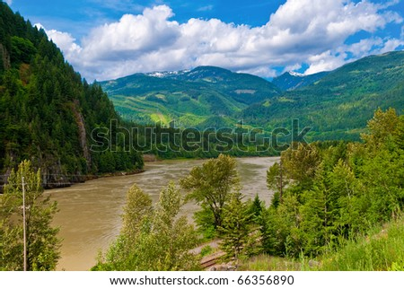 map of british columbia rivers. River British Columbia Map