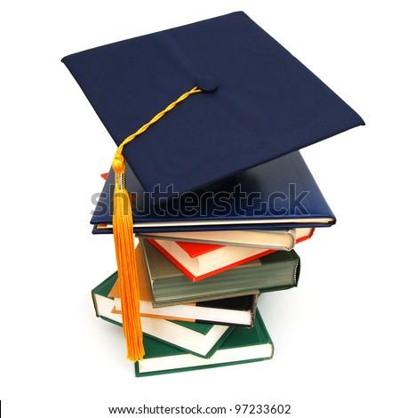 A graduating diploma school