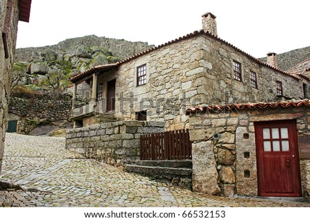 A granitic house in the ancient village of Sortelha