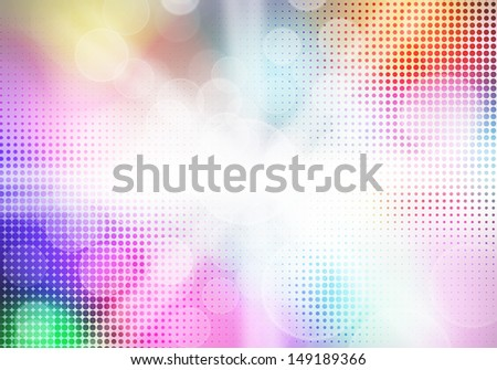 a graphic of abstract multicolor halftone pattern background,urban lifestyle