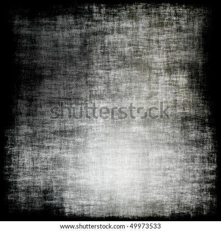 A gray grunge texture or background border with scratch marks.  Tiles seamlessly as a pattern. - stock photo