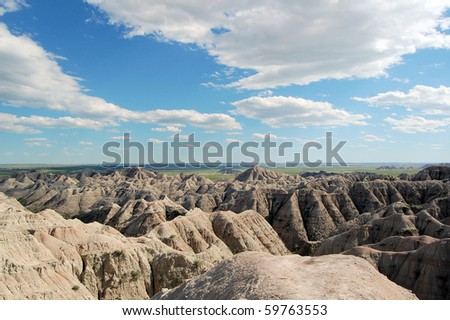 A great view of Badlands