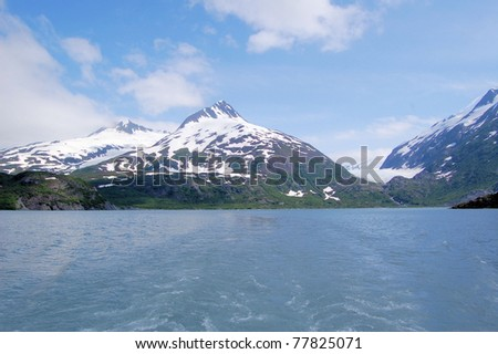 A Great View of Portage Lake, Alaska