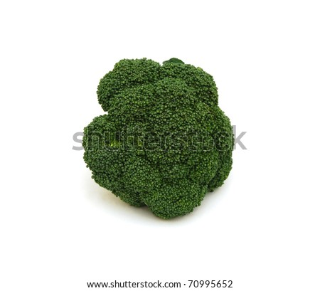 A green broccoli
