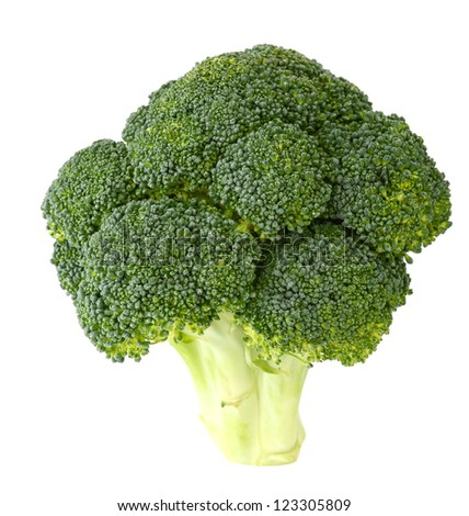 A green broccoli food
