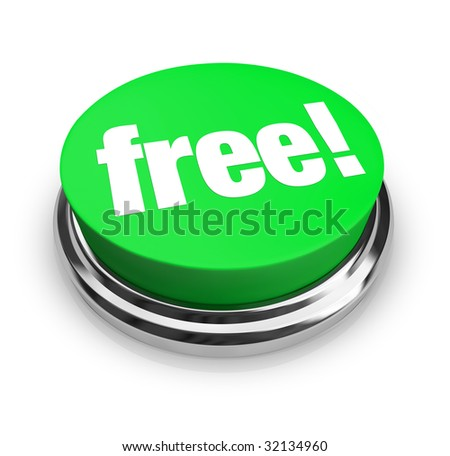 A green button with the word Free on it