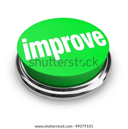 A green button with the word Improve on it